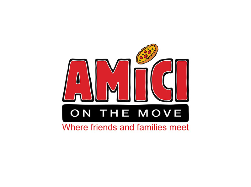 Amici on the move page logo